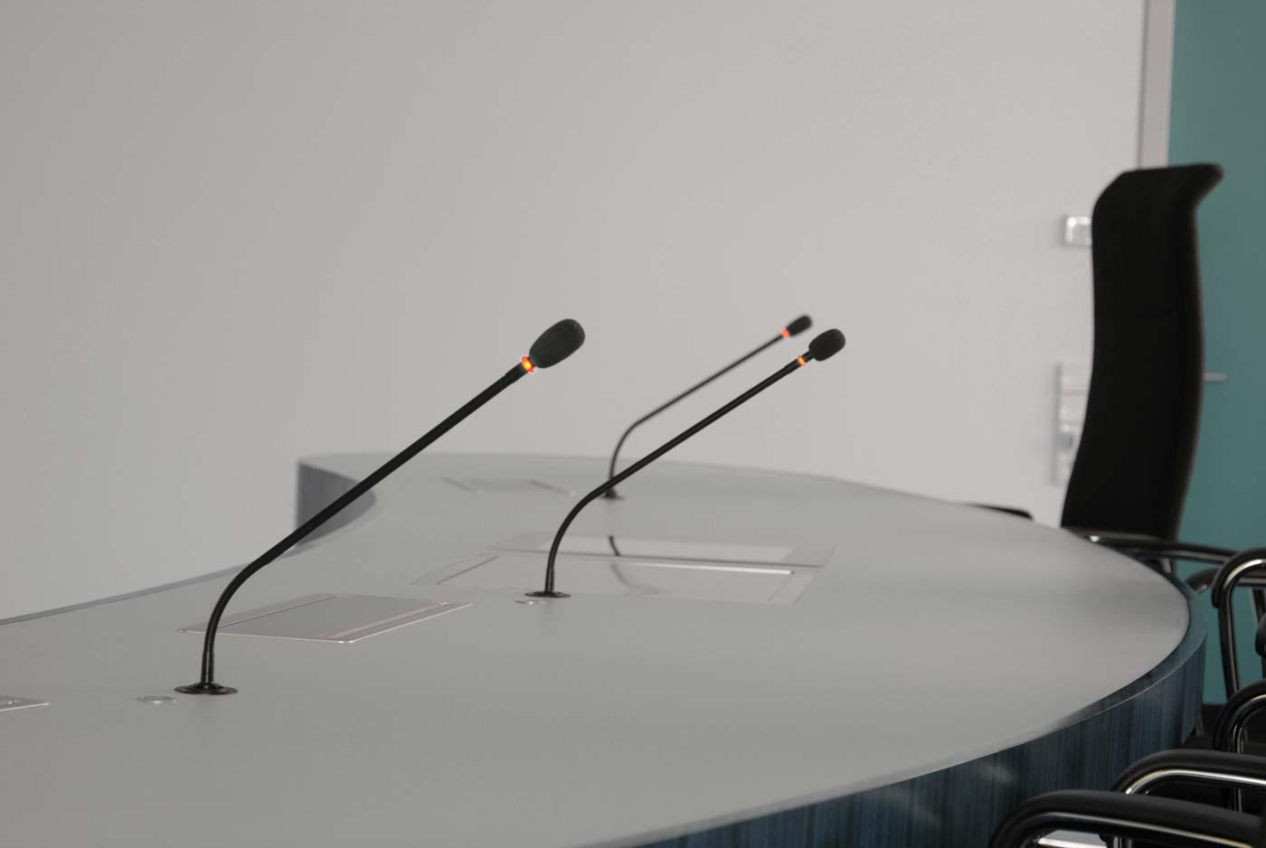 Medientechnik im Gerichtssaal