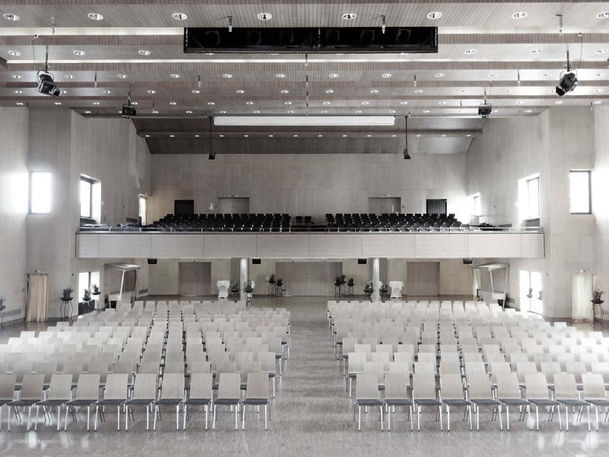 Großer Saal Oberstdorf Kurhaus Bühnenansicht