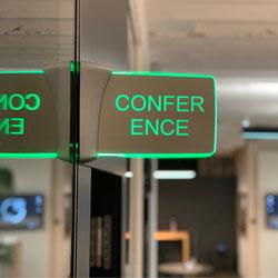 Konferenzraumbuchung Anzeige