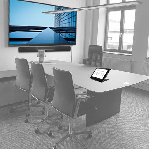 Konferenzraum mit Soundbar