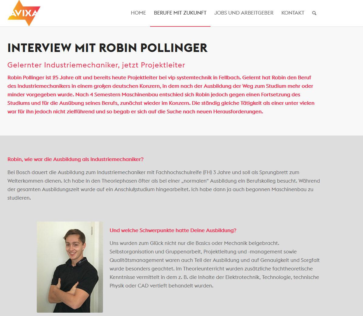 AVIEA Interview Robin Pollinger